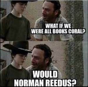 Carl Grimes Memes - death zombies and dad jokes photo i