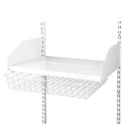 white metal shelf kit at menards 174