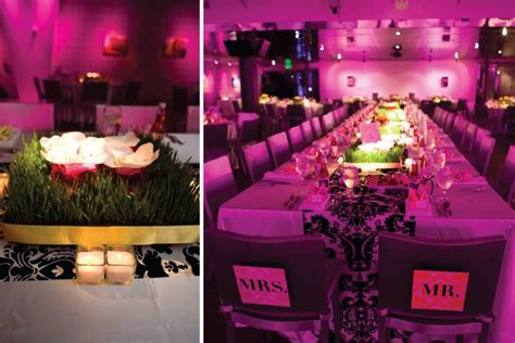 Pink And Black Wedding Ideas by Pink Black And White Wedding Centerpieces Ideas Best