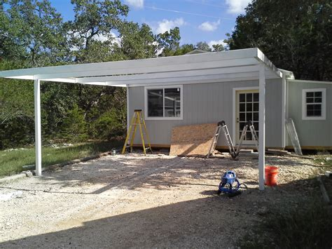 Attached Car Port by Cotulla Attached Custom All Steel Carport Carport