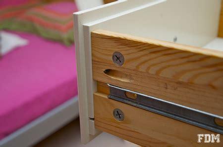 comment reparer les tiroirs d une commode