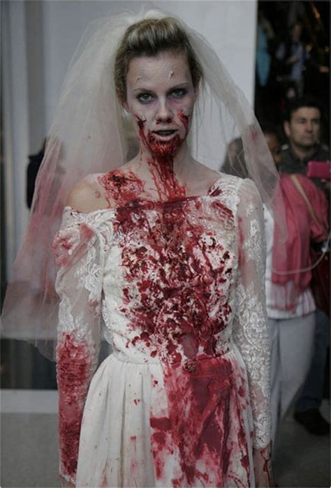 scary corpse bride makeup  ideas  halloween