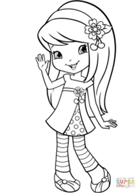 Cherry Jam Coloring Pages images of strawberry shortcake coloring pages