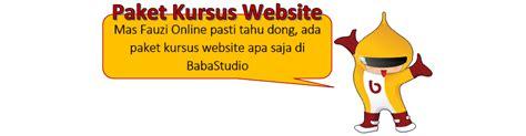 Paket Lengkap Menguasai Animasi 2d baba studio tempat kursus komputer kursus web dan kursus