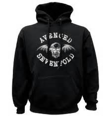 Pullover Hoodie Avenge Sevenfol Logo avenged sevenfold merchandise sleeve t shirt