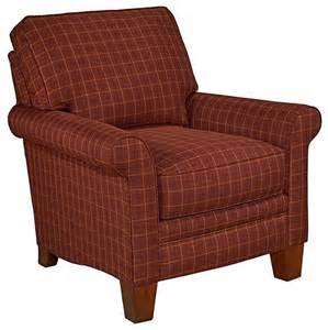 broyhill accent chairs broyhill emily2 classic plaid club chair 026696 0q