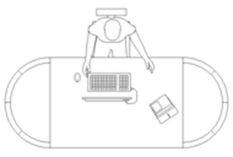 scrivania ufficio dwg scrivanie 2d