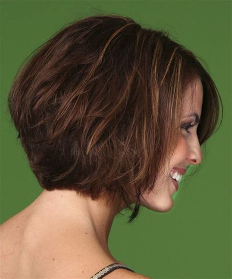 casual bob hairstyles casual medium straight hairstyle side view hairstyles