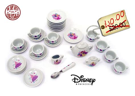 Disney Princess Tea Set disney princesses porcelain tea set half price at 163 10