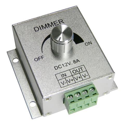 led len 12v dimmen led dimmer pwm 12v 8a stufenlos dimmen von 12 volt leds