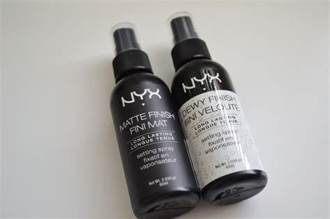 Makeup Setting Spray Nyx aquaheart nyx cosmetics makeup setting spray in matte and