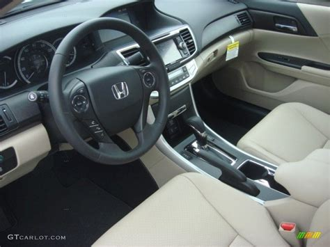 2013 Honda Accord Ex L Interior by Ivory Interior 2013 Honda Accord Ex L Sedan Photo