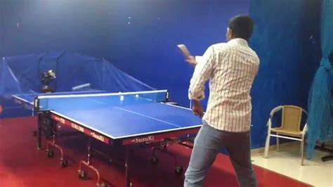 ping pong table machine ping pong machine table tennis practice