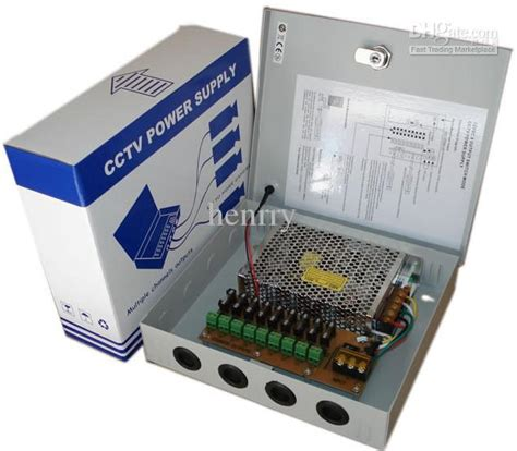 Termurah Power Supplay 12v 20 Box Khusus Cctv 2017 cctv ptc distribute power supply box 9 channel 12v dc