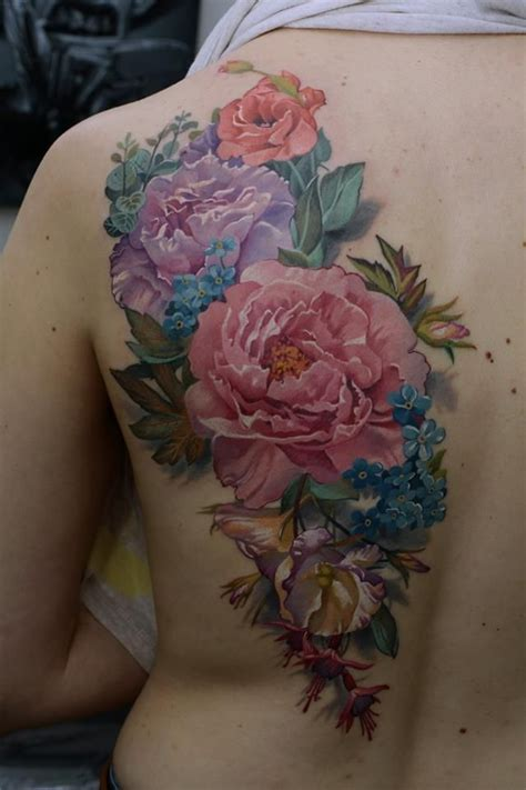 realistic flower tattoo 25 best ideas about realistic flower on
