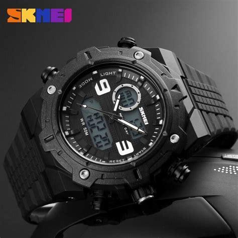 Jam Tangan Murah Jam Tangan Pria Skmei Ad 1081 Promo skmei jam tangan analog digital pria ad1156 black