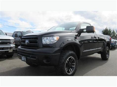 Used Toyota Single Cab 4x4 For Sale Used 2011 Toyota Tundra 4x4 Regular Cab Box For Sale