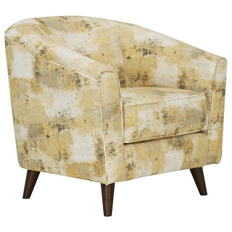 Fabric Accent Chair City Furniture Antalya Yellow Fabric Accent Chair