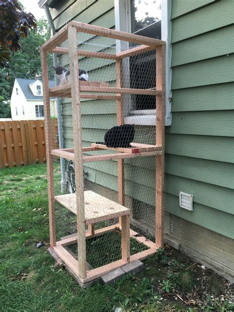 catio simple outdoor cat enclosure