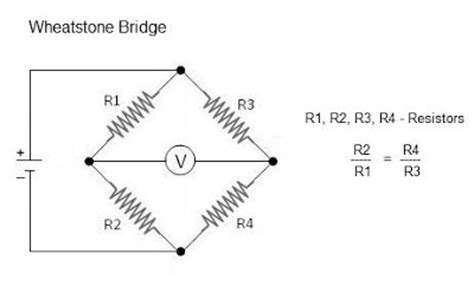 wheatstone bridge load resistor digital weighing how does a load cell work