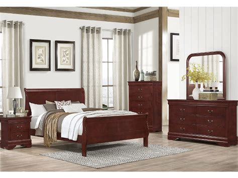 martini bedroom set martini cherry 5 piece bedroom set bailey s furniture