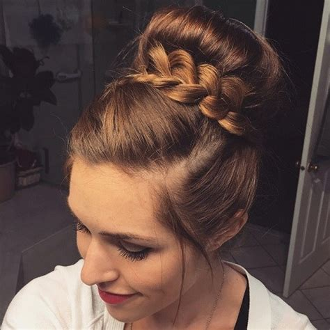 bun with braid around it how to 30 easy and stylish casual updos for long hair