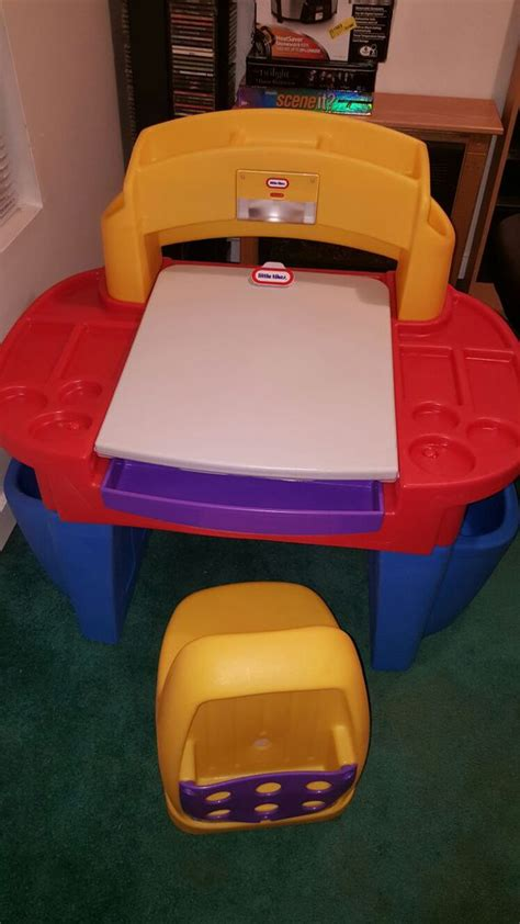 tikes desk and chair with light tikes desk with easel desk light and chair
