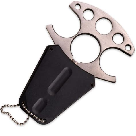 knife with chain mtech fang neck knife with molded sheath and chain