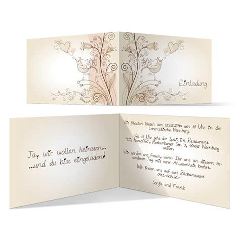 Einladungskarten Trauung by Einladungskarten Zur Hochzeit Liebesbaum Bestellen