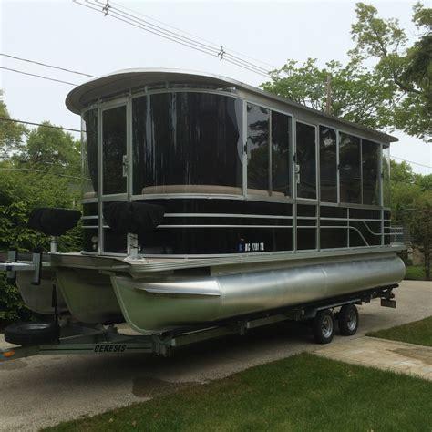 pontoon boat with cabin pontoon cruiser luxury edition cabin cruiser cer 2015