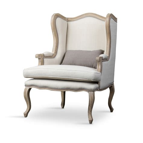 Wooden Accent Chair Baxton Studio Auvergne Wood Traditional Accent Chair Home Furniture Living Room