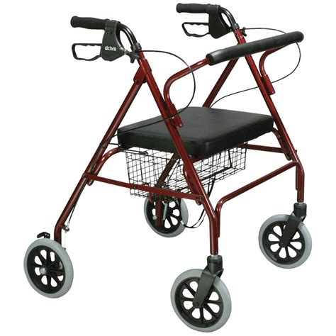 rollator with seat heavy duty bariatric rollator walker with large padded