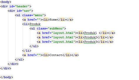 membuat dropdown menu sederhana menggunakan html dan css cara mudah membuat dropdown menu dengan html dan css