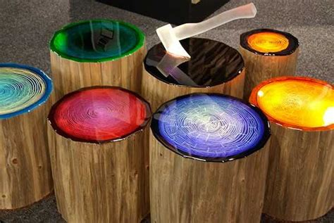 Spectacular Lighting Ideas Add Color To Wood Furniture Lights For Small Trees