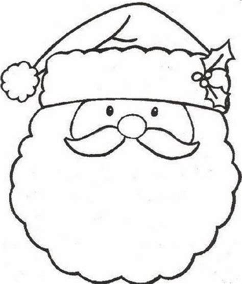 coloring pages preschool christmas free printable santa merry christmas xmas coloring pages