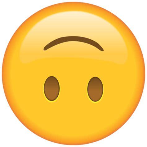 upside  face emoji emoji island