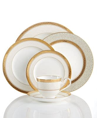 Set Bunga Golden noritake dinnerware odessa gold collection china