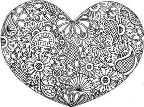 abstract heart coloring pages difficult abstract for