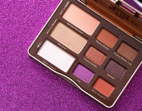 Eyeshadow Jelly the day in vol 5 the faced peanut butter and