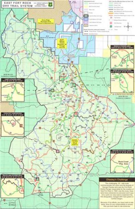 fort rock oregon map atv pictures atv east fort rock trail system map atv images