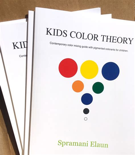 color theory books color theory mixing teaching book