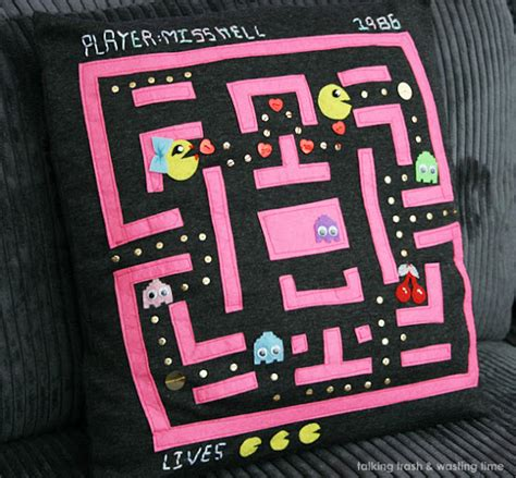 pacman time wasted talking trash wasting time handmade pac