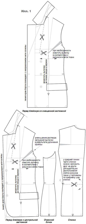pattern maker tailor pattern jacket fabric in a cage pokroyka ru learned