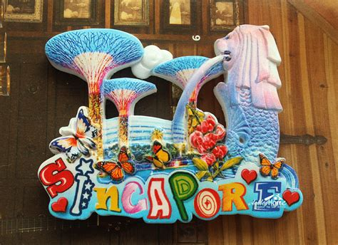 Craft Paper Singapore - singapore merlion park tourist travel souvenir 3d resin