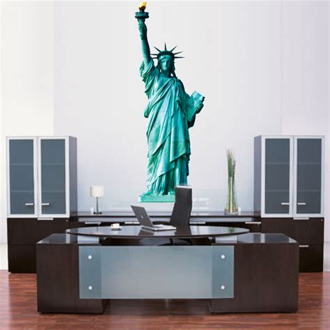 mural wall decals statue of liberty wall mural decal large wall decal murals primedecals