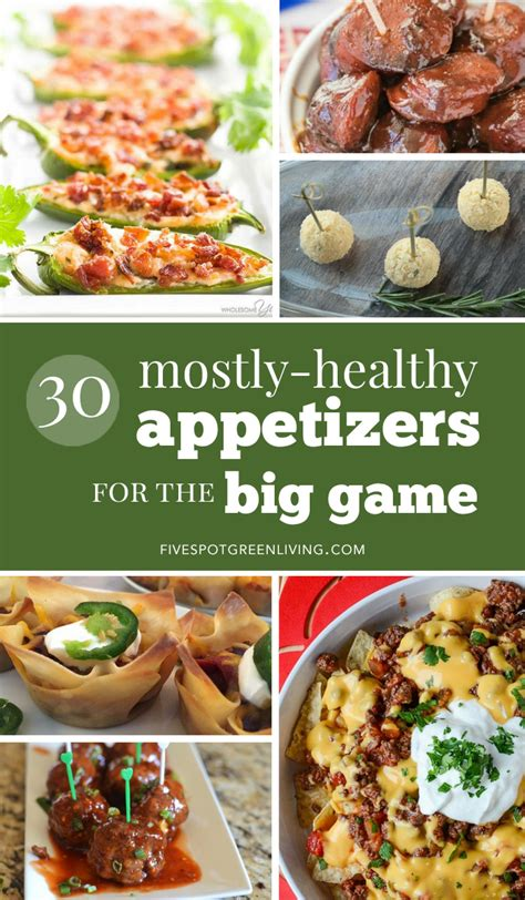 kid friendly bowl appetizers thirty mostly healthy appetizers for bowl five spot green living