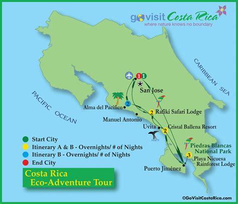 san jose pacifico map costa rica eco adventure tour go visit costa rica