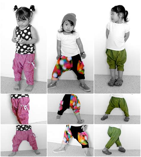 free pattern baby harem pants suburbia soup harem sareoul mc hammer quot you call it quot pant