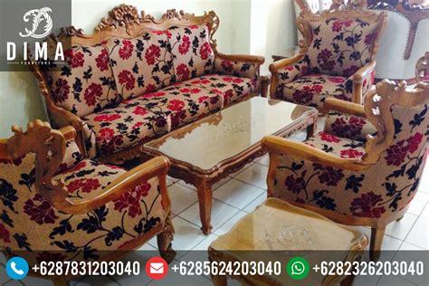Kursi Sofa Murah Di Medan kursi sofa tamu jati ganesa ukir jepara mewah murah
