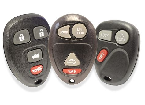 replacement chevrolet keyless entry key fob remotes